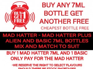 Buy any 7ml bottle Get another FREE