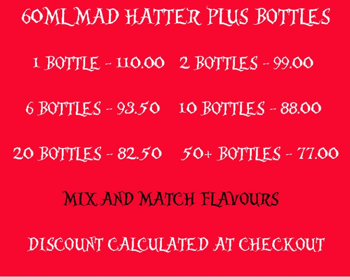 mad hatter plus 60ml